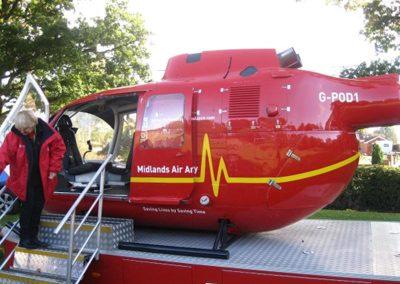Air Ambulance Visit