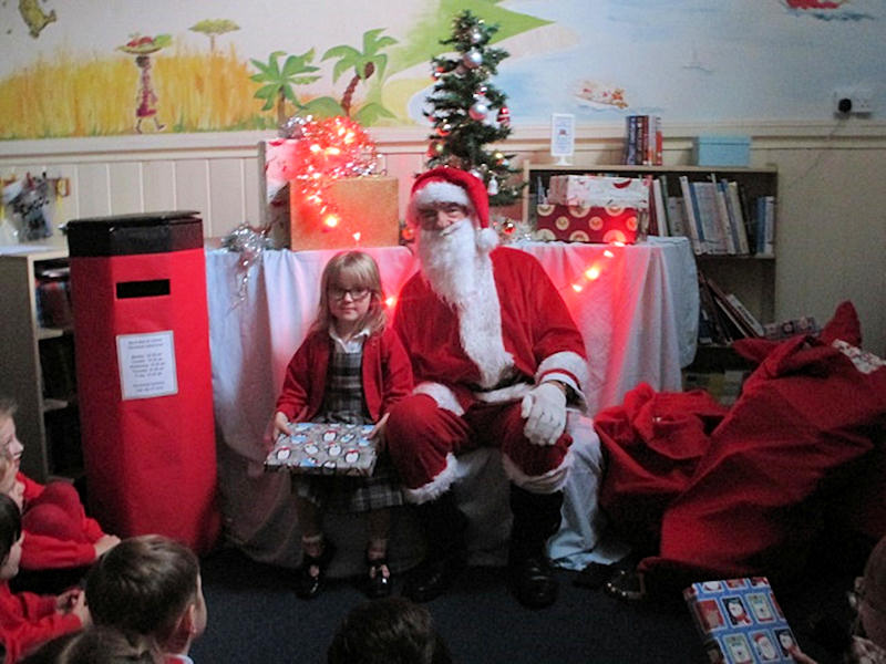 A Visit from Father Christmas