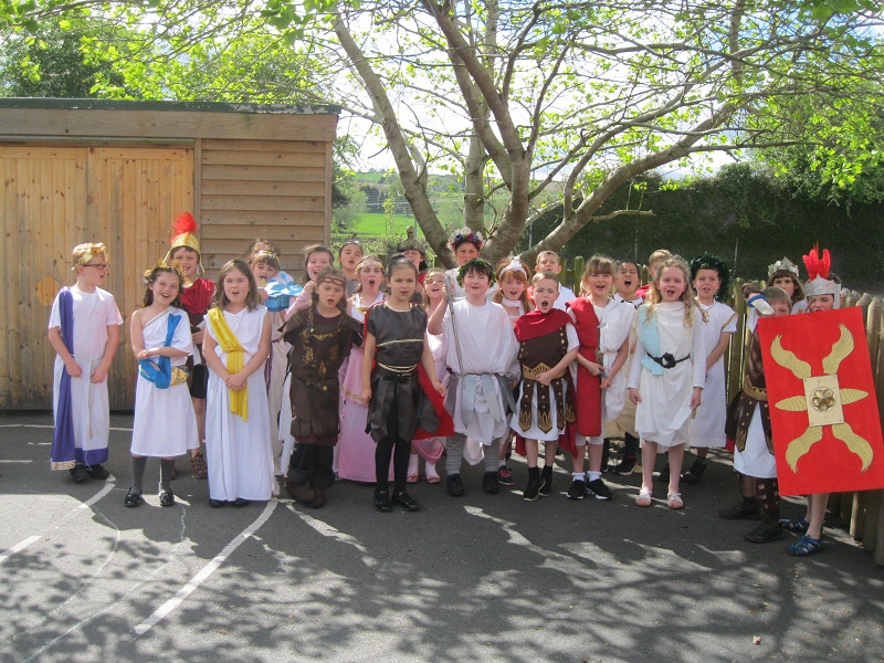 A Roman Day for Class 3