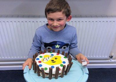 Pudsey cake by Mrs Jones