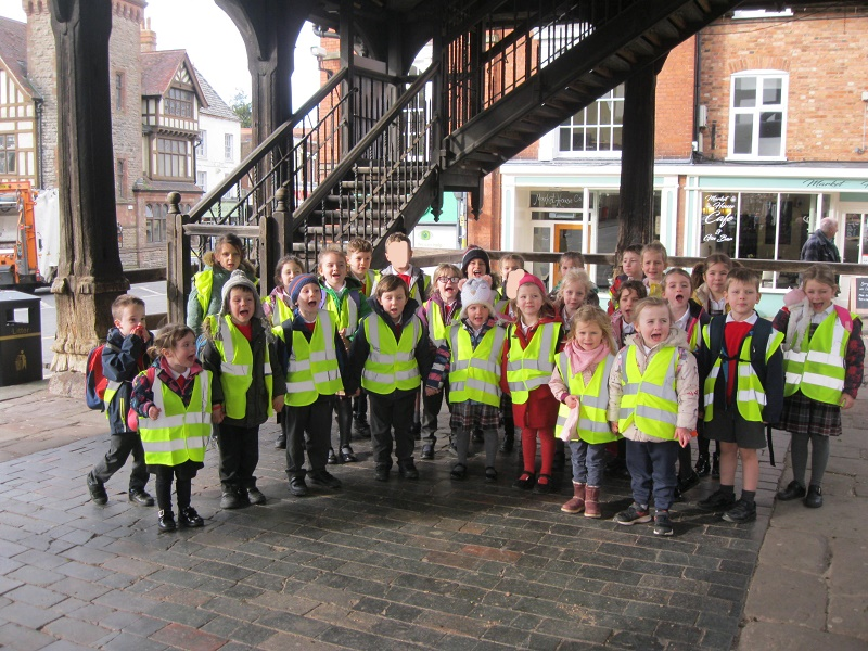 EYFS and KS1 Trip to Ledbury