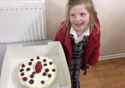 Fresh Berry Cake