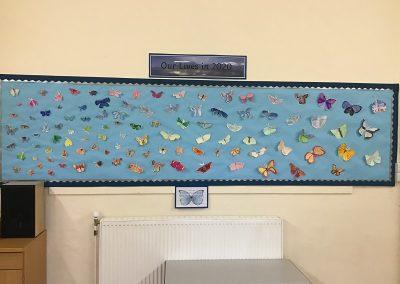 Class 4 - Watercolour Butterflies